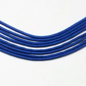 Paracord - kornblå 2 mm