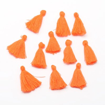 Tassel av bomull orange