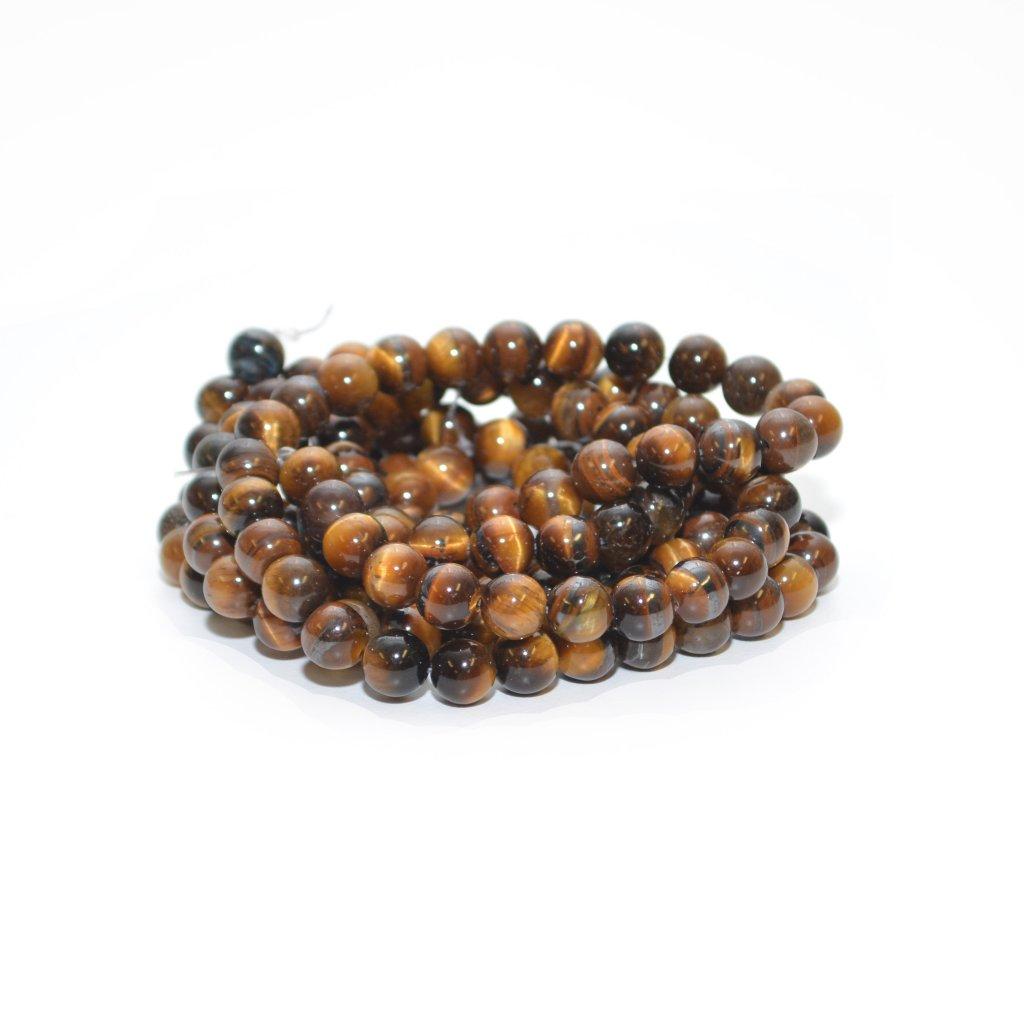 Halvädel pärlor tigeröga 8 mm 9583c20a54579