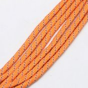 Paracord - orange/blå/vit