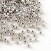 Seed beads 2 mm glansig beige